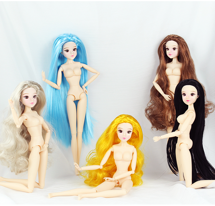 BJD Blyth doll MM Girl Nude Doll Constellation Series 30cm Joint body doll цены