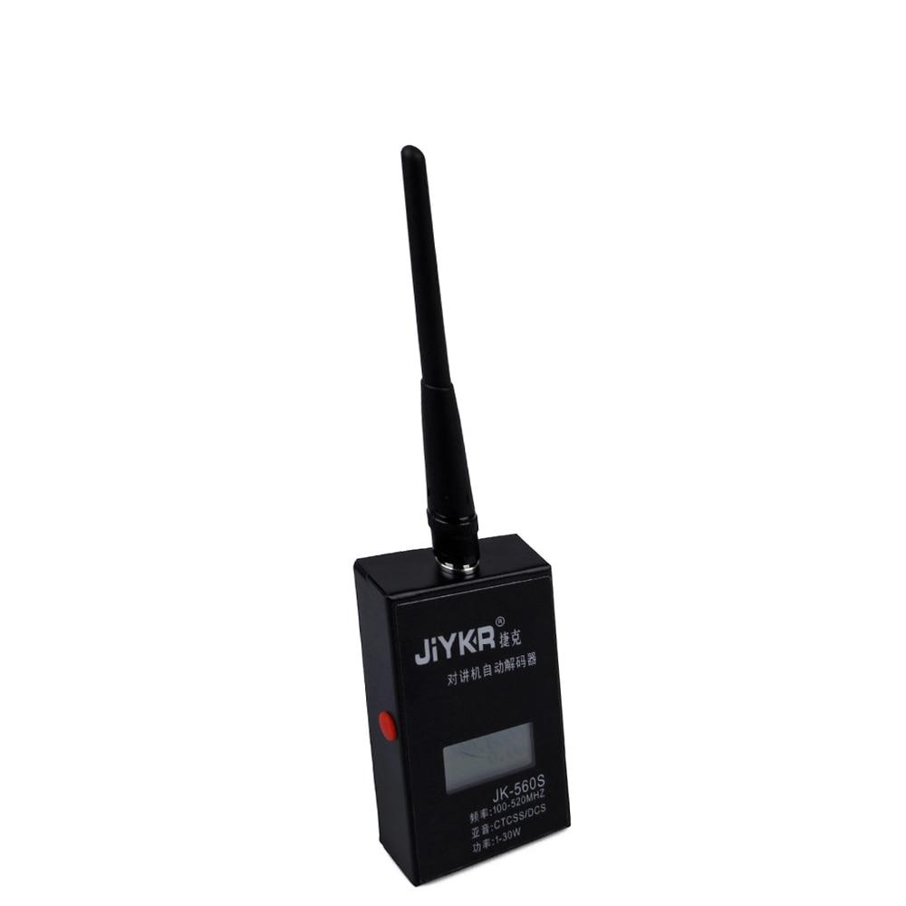 Frequenzzähler JK560S Für Baofeng Walkie Talkie Decoder 1-30 watt 100-520 mhz CTCSS/DCS SMA-weibliche Antenne Frequenzzähler