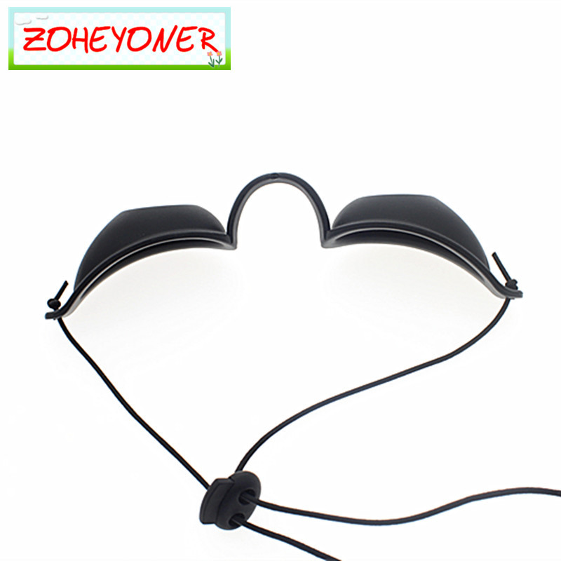 Laser Safety Goggles IPL Protective Glasses Soft Eyepatch For Beauty Clinic Patient Black Carbon Doll OPT  E Light Eyecup