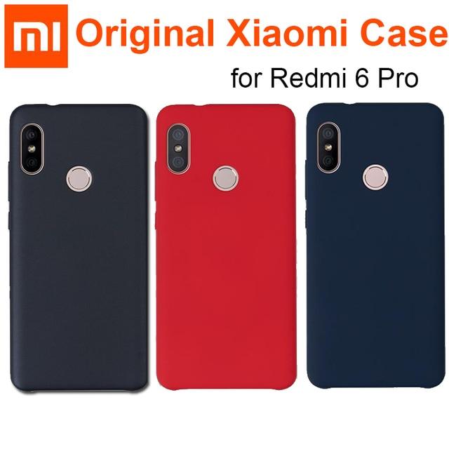 Official Xiaomi Redmi 6 pro case cover Original Redmi6 Pro back cover / MI A2 Lite capas coque original Redmi 6pro case