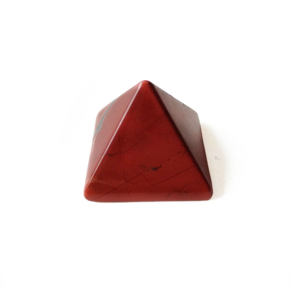 US $9 09 30% OFF|1pc Polished Stone Natural Red Jasper Crystals Carved  Egypt Pyramid Figurines Statues Healing Pyramid Feng Shui Home  Decoration-in