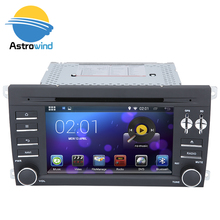 16 GB Flash, 4 Core, HD 1024X600, Android 5.1 Car DVD GPS Navigation System Auto Radio Autoradio for Porsche:Cayenne(2003-2010)