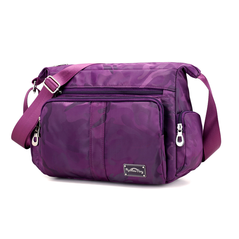 Women Shoulder Bags Fashion Lady Crossbody Bag School Style Nylon Waterproof Women Message Bag Female Bolsa Tote with Strap