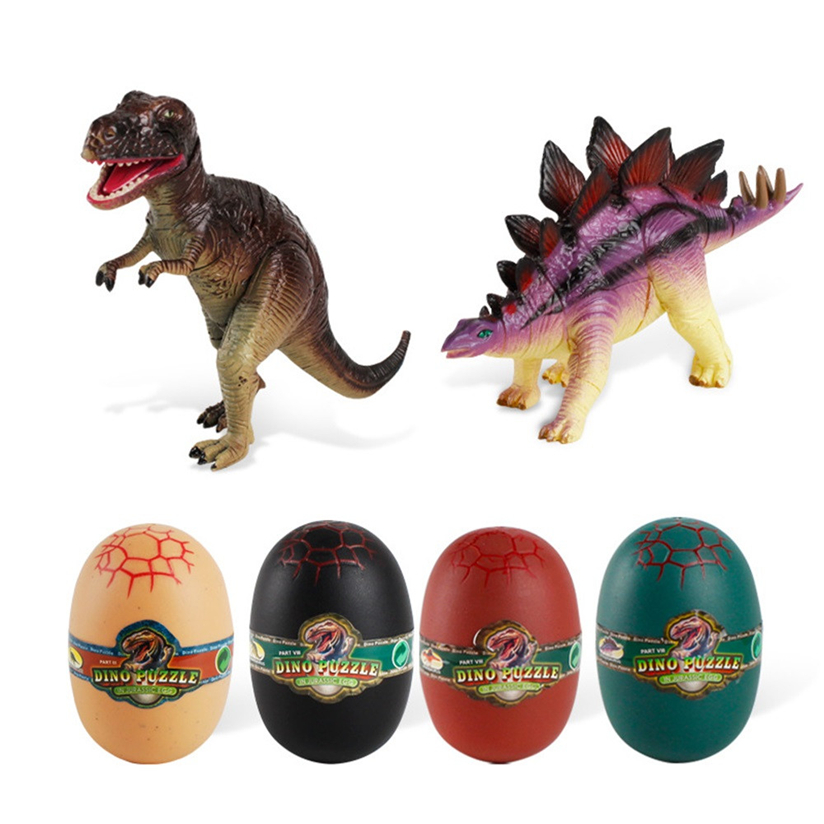 Creative Simulation Dinosaur Toy Model Deformed Easter Dinosaur Egg Collection Easter Toys Gift Stress Reliever #5