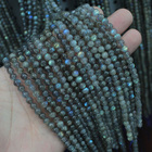 """round rainbow Labradorite beads natural stone GEM beads DIY loose beads for jewelry making strand 15"""" free shipping wholesale"""