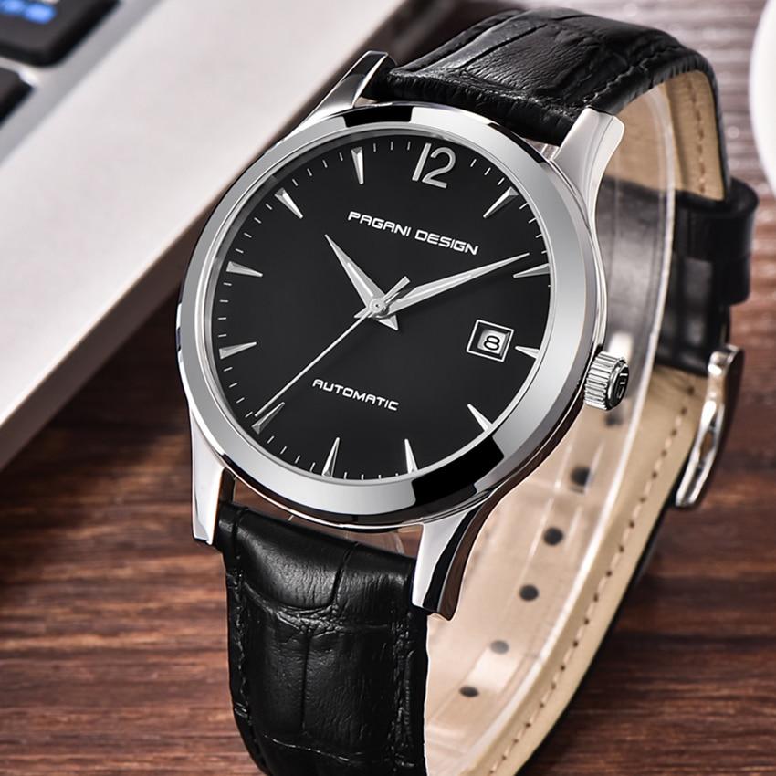 Reloj Hombre Top Luxury Brand Men Automatic mechanical Watches Men Casual fashion business Man Clock Watch men Relogio Masculino