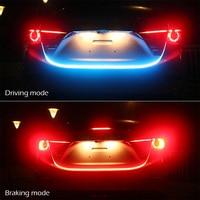 Taitian Flashing Brake Light Flexible Flow Led Strip For Car Warning Lamp Red Blue Led 12v