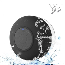 Купить Mini Bluetooth Speaker Portable Waterproof Wireless Handsfree Speakers With Suction Cup For Showers Bathroom Pool Car Beach онлайн с доставкой