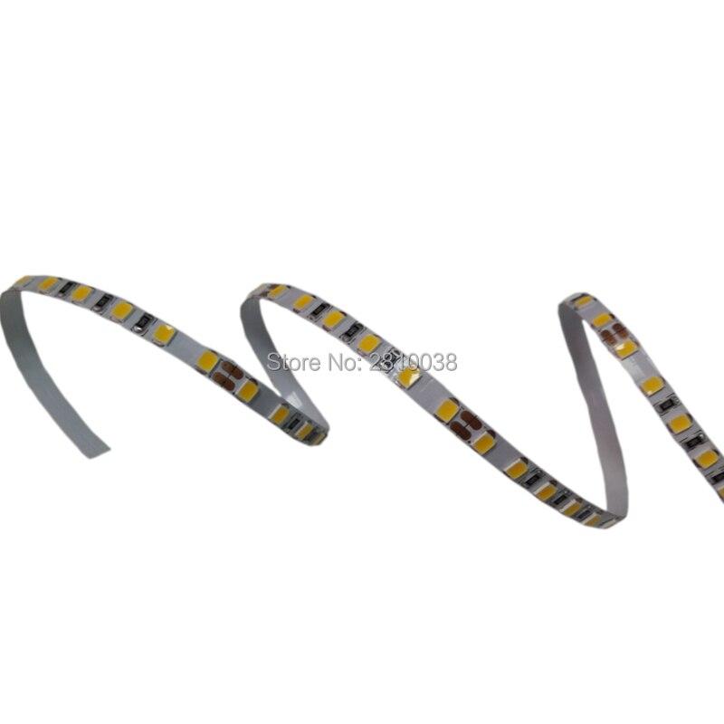 100M/Lot DC12/24V 5/8mm wide Flexible led strip 19.2W/M led strips light high CRI 90+ 2835 led light strip with 120leds/M