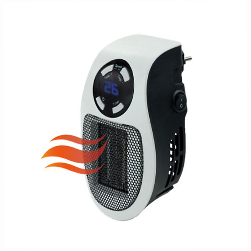 EU Plug 500W Electric Heater Mini Fan Heater Desktop Household Wall Handy Heater Stove Radiator Warmer Machine for Winter|Electric Heaters| |  - title=