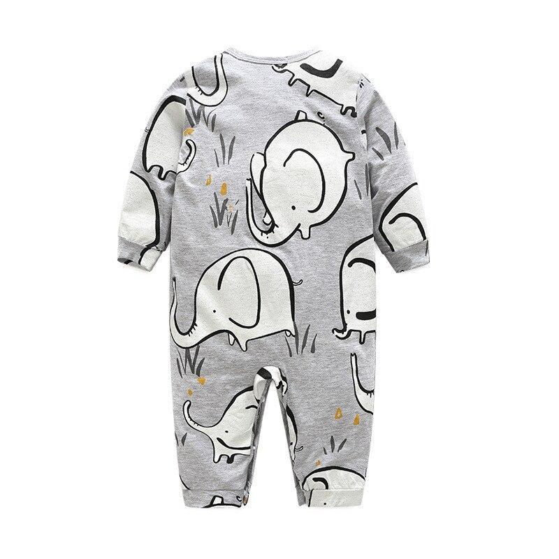 6m 24m Newborn Unisex Baby Clothes Elephant Baby Girls Boys Long