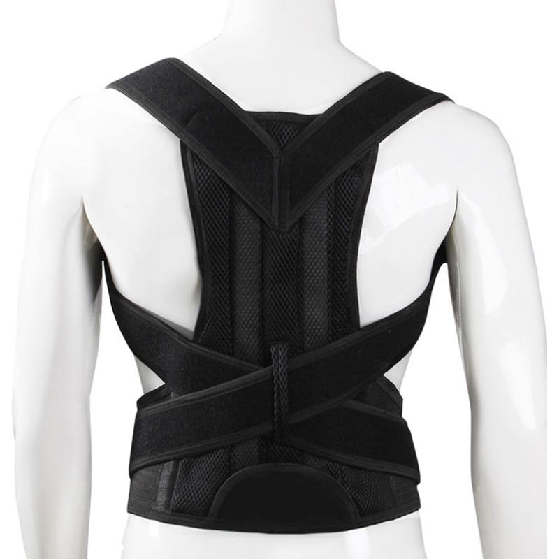 Magnetic Bar Posture Corrector Braces&Support Back Pain Belt Brace Shoulder For Men Women Care Health Adjustable Posture Band 4