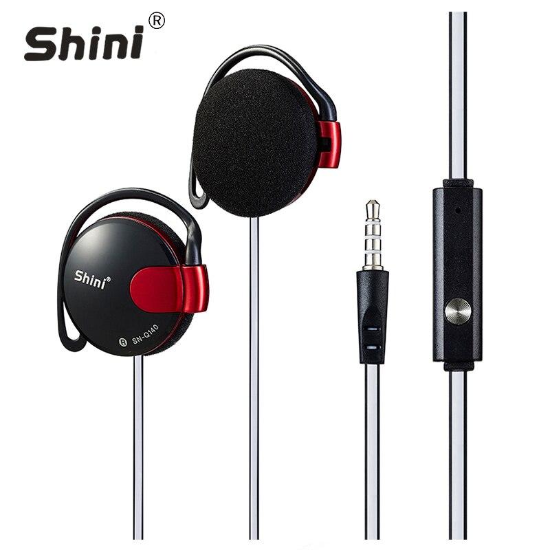 3.5mm fone de Ouvido Estéreo Subwoofer Fone de Ouvido Gancho do Ouvido fone de Ouvido Para O Telefone Móvel fone de Ouvido Preço de Fábrica Por Atacado Frete Grátis