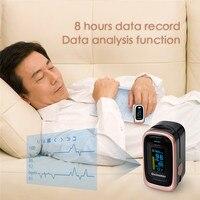 ELERA Finger Pulse Oximeter 4 Parameter SPO2 PR PI ODI4 Oximetro De Dedo 8 Hour Sleep