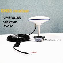 DIY Высокое качество gps приемник антенна, RS232 приемник, Магнитная база 4800 скорость передачи, модуль антенный кабель 5 метров