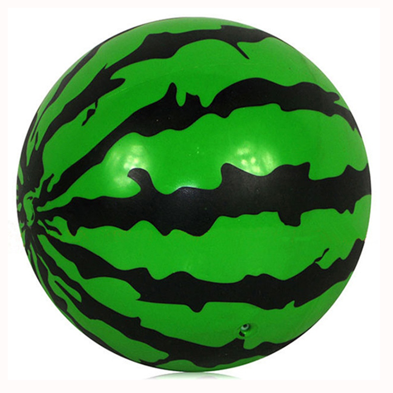 14cm Kids sports Inflatable Ball font b Toy b font Plastic Ball Watermelon Ball PVC Ball