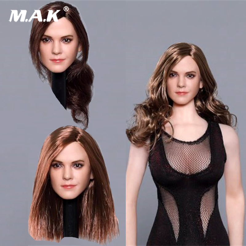 Sculpt Watson-Head Action-Figure-Collection Emma 1/6-Scale American And for 12-Plant-Hair