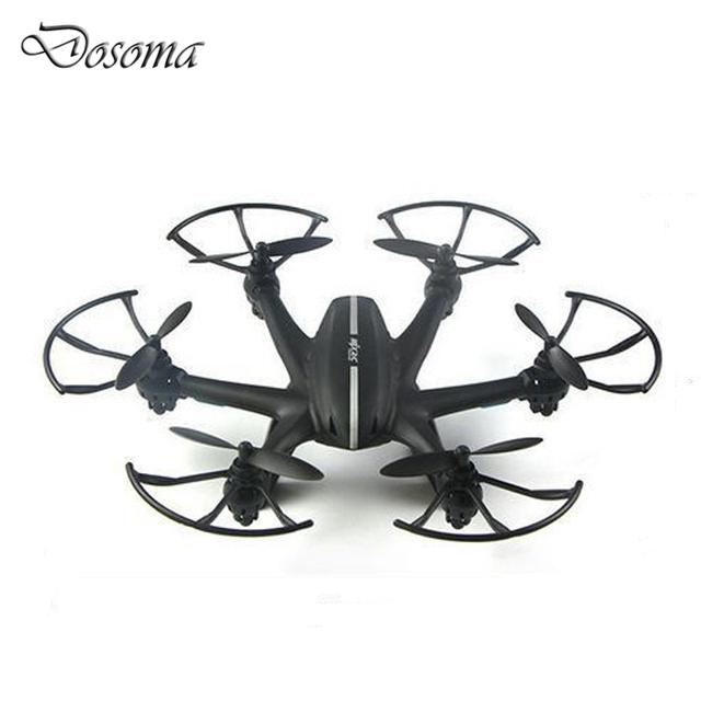 Nano X800 Aviones 2.4G 4CH 6-Axis Quadcopter MJX RC Helicóptero Mini Drones con Flaslight (Negro, Blanco)