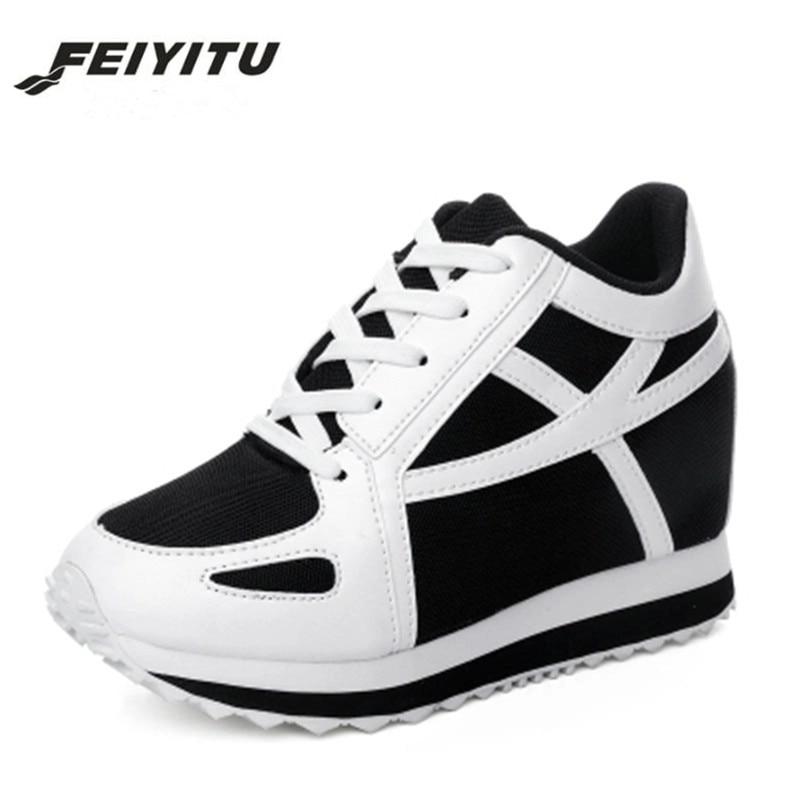 FeiYiTu 2018 Women Sneakers Ladies Shoes Female Footwear Tenis Feminino Casual Basket Femme Chaussure Femme Sapatos Femininos