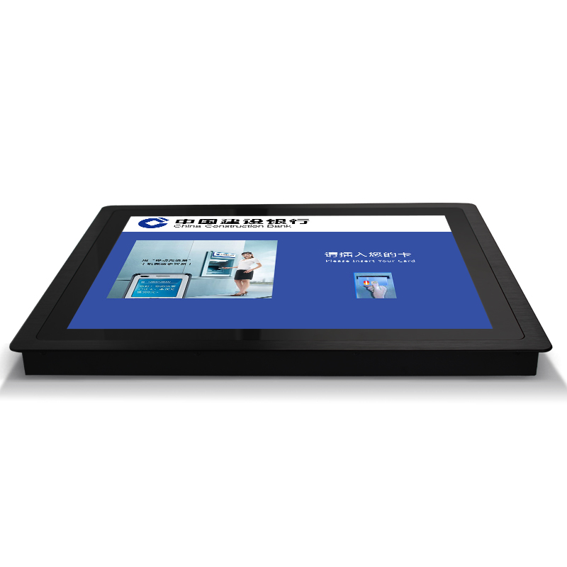 Industrial 15 Inch Panel Mounted Touch Fanless Computer