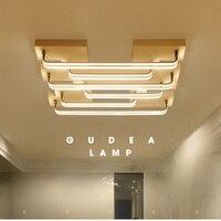 LUNICOO 2017 New Acrylic Ceiling Lamp Long Tube Combination Modern Creative Fashion Ceiling Lamp Light