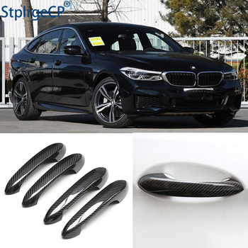 for BMW 6 series GT 6GT G32 640i 630i M 2018 2019 2020 Accessories 100% real carbon fiber Auto outer door handle cover