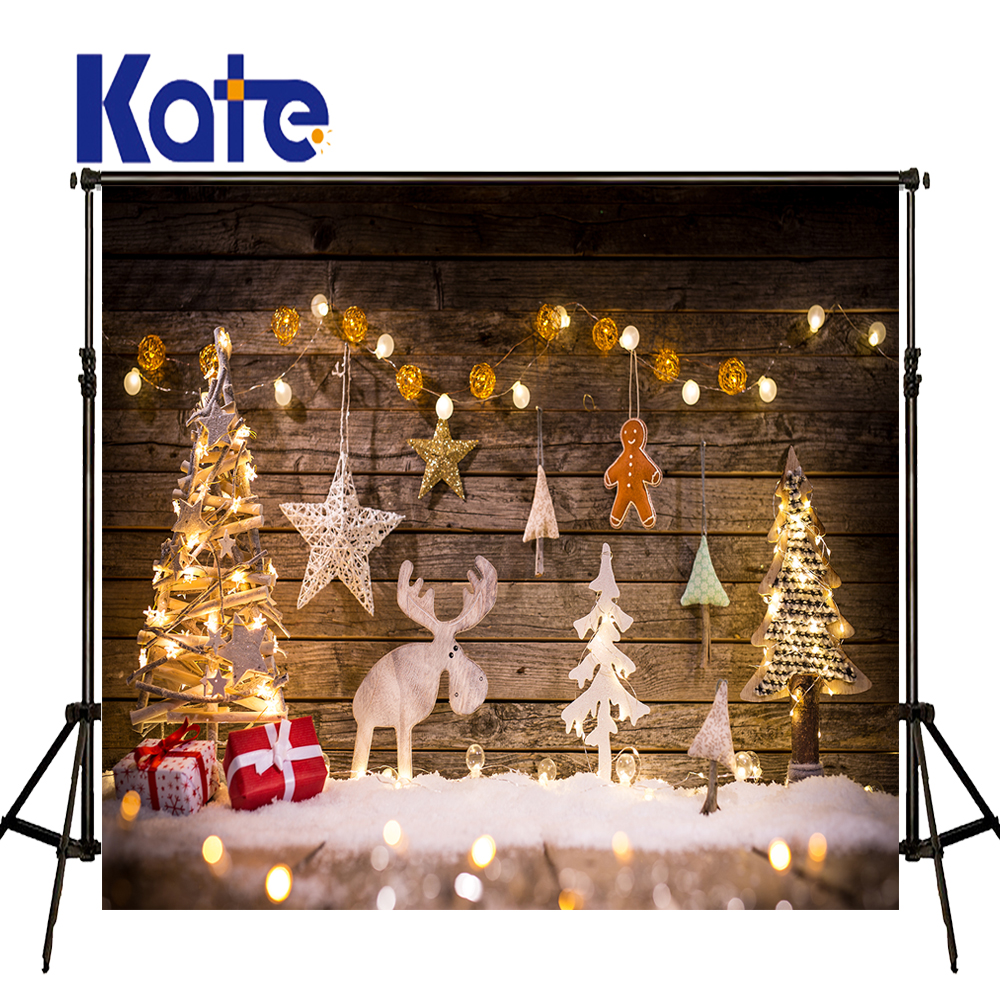 KATE Christmas Backdrop Old Wooden Background Newborn Backdrop Lights Christmas Pine Tree Background Newborn Background сумка kate spade new york wkru2816 kate spade hanna