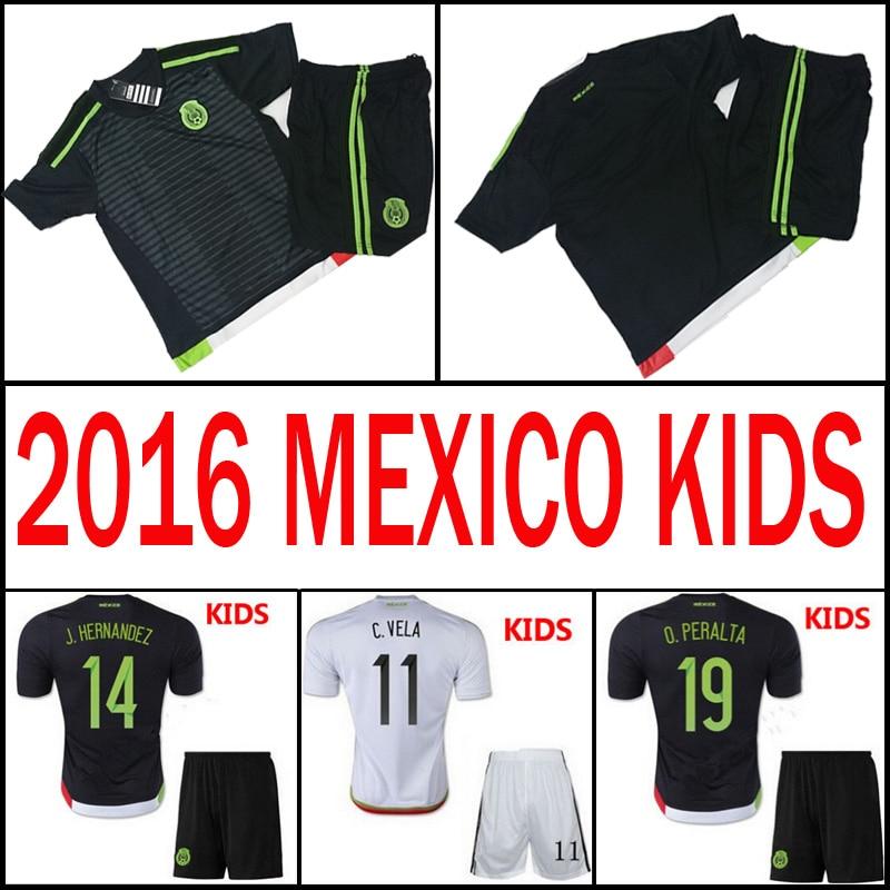 d7db7db5ef7ad ... coupon soccer jersey mexico kids 2016 children sports uniform black 2015  boys white 15 . 1ee59