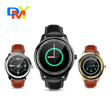 Hot ! DM365 Smart watch Support Camera Bluetooth 4.0 Full Circle IPS screen for iPhone Andriod Smartphone Hands free wristwatch