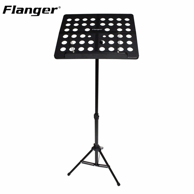 Flanger FL-05R Folding Music Tripod Stand Holder Sheet Aluminum Alloy+ABS With Soft Case + Carrying Bag Musical Instruments