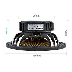 Image 2 - 6,5 дюймовый автомобильный аудио низкочастотный бас динамик высокой мощности 4 8 Ом 60 Вт 25 ядер пули алюминиевый таз музыкальный сабвуфер громкий динамик