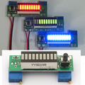 Diy Kits LM3914 10 Segment 5V 12V Battery Capacity Power Level red LED Indicator Display