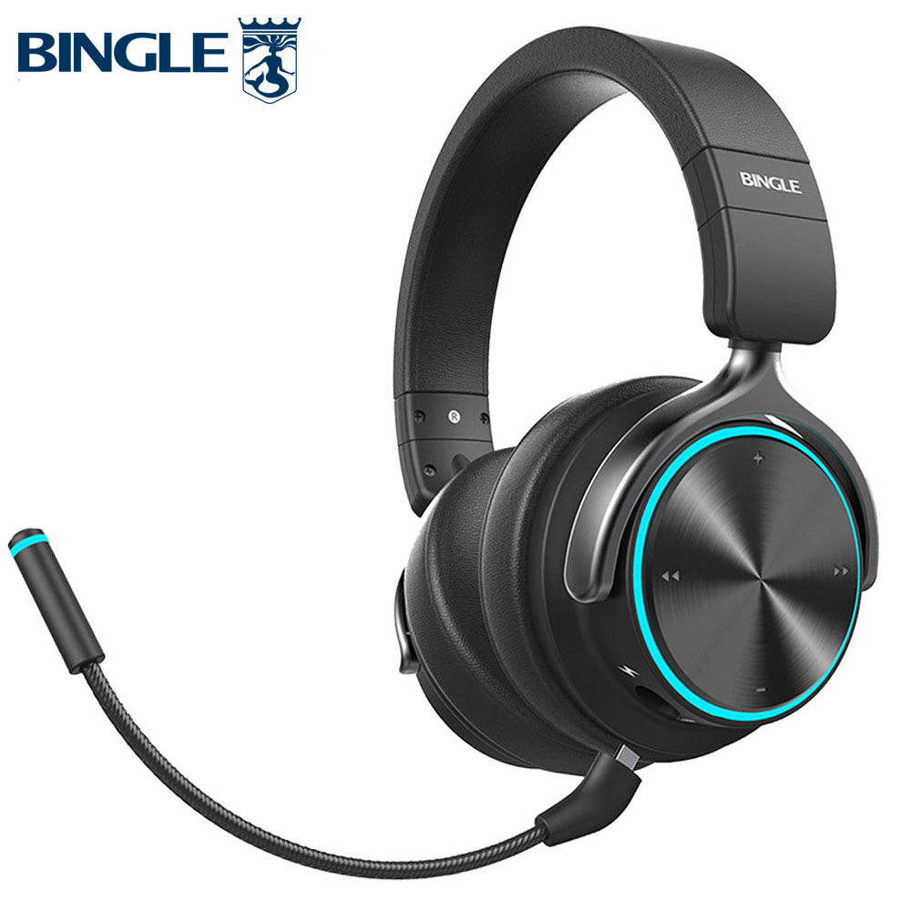 Smart Bt Noise Canceling Mic Stereo Bluetooth Wireless Headphone Headsets For Gaming Ps4 Xbox Tv Pc Studio Audio Gamer Cellphone Phone Earphones Headphones Aliexpress
