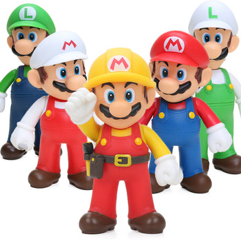 Game Super Mario Bros Action Figure – Yoshi Luigi Mario PVC Action Figures Toys | 12cm