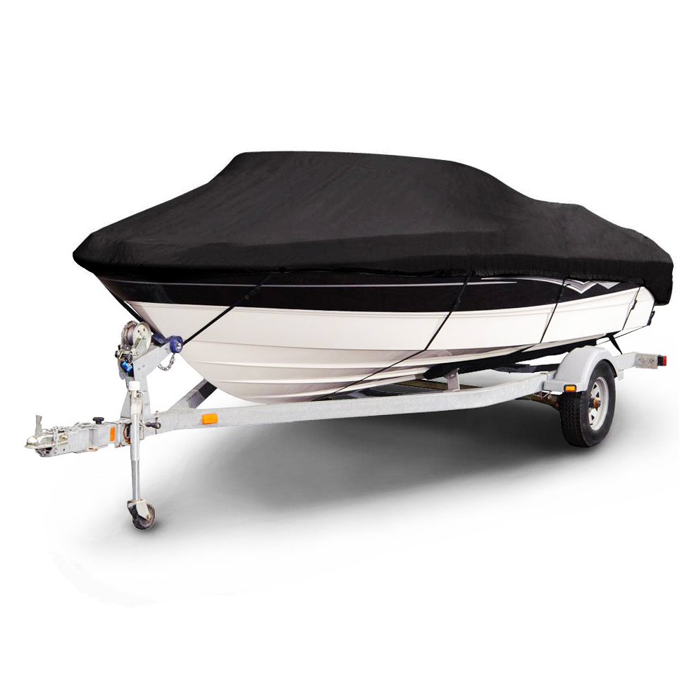 210D PU Coated  Heavy Duty Trailerable Boat Cover,16-19'x96Classic Accessories,High Quality Waterproof,UV anti,marine grade evans b14hdd 14 genera heavy duty dry coated