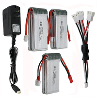 Power Lipo Battery 3pcs MJX X101 7 4v 1200mah UL Changer For MJX X101 MJX X102H