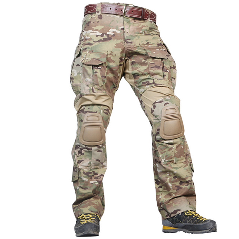 WOLF ENEMY G3 Combat Pants with Knee Pads Airsoft Tactical Trousers MultiCam Black CP Blue Gen3 Military Hunting CamouflageWOLF ENEMY G3 Combat Pants with Knee Pads Airsoft Tactical Trousers MultiCam Black CP Blue Gen3 Military Hunting Camouflage