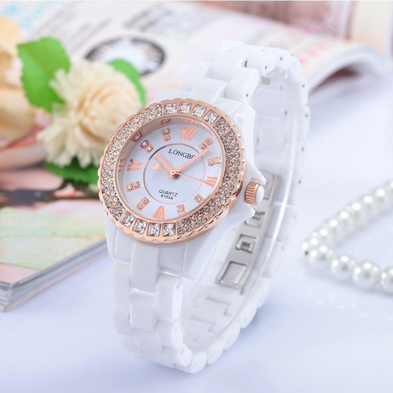 LONGBO New Korean Luxury Jewelry Business Casual Men Brand Watches