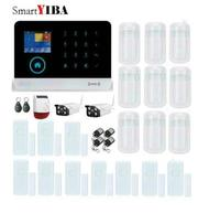 SmartYIBA APP Control HD Security Camera PIR Motion Sensor Door Gap Alarm For Wireless WIFI GPRS
