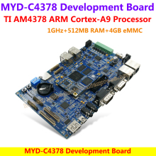 MYD-C4378 Development Board AM4378 Development Board TI Cortex-A9 AM4378 Development Board(1GHz TI AM4378,512MB RAM,4GB eMMC)