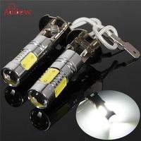 2x Hi Power Constant Current LED COB H3 7 5W Car Fog Day Head Light Lamp