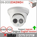 English Version DS-2CD2342WD-I 4MP CCTV Camera WDR EXIR Turret Network MINI Dome IP Camera  Support Onvif