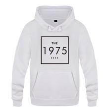 The 1975 Letter Swag Music  Sweatshirts Men 2018 Mens Hooded Fleece Pullover Hoodies