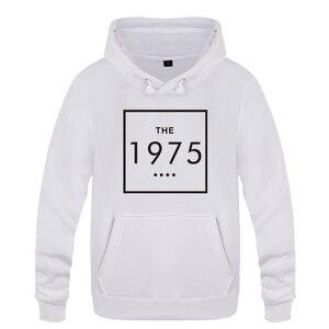 Image 1 - The 1975 Letter Swag Music  Sweatshirts Men 2018 Mens Hooded Fleece Pullover Hoodies