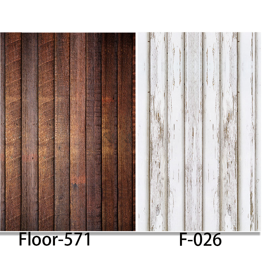 Photography Background Wood Floor Vinyl Digital Printing Cloth Backdrops for photo studio alternative F026 Floor-571