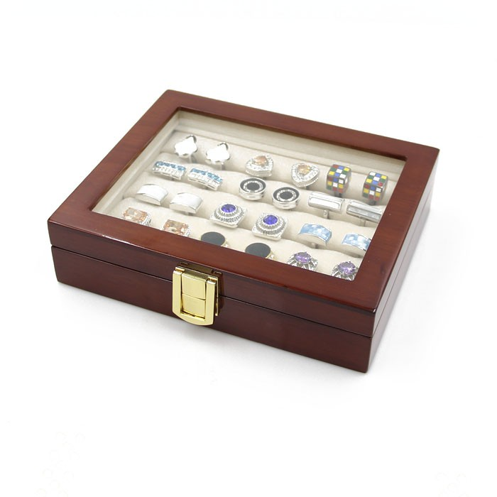 2016 Cufflink Cuff Links Storage Gift Box Jewelry Display Case High Quality Painted Wooden Box2016 Cufflink Cuff Links Storage Gift Box Jewelry Display Case High Quality Painted Wooden Box