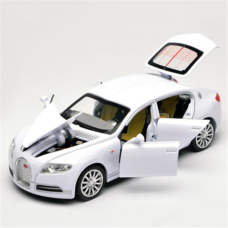 Shop Velocity Toys Diecast Bugatti Veyron Super Sport: 1/32 Metal Bugatti Car Models Alloy Diecast High