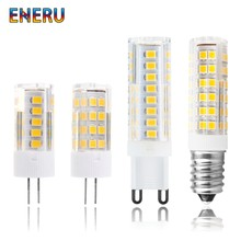 G4 G9 E14 LED Bulb 3W 4W 5W 7W Mini LED Lamp AC 220V-240V LED Corn Bulb SMD2835 360 Beam Angle Replace Halogen Chandelier Lights(China)