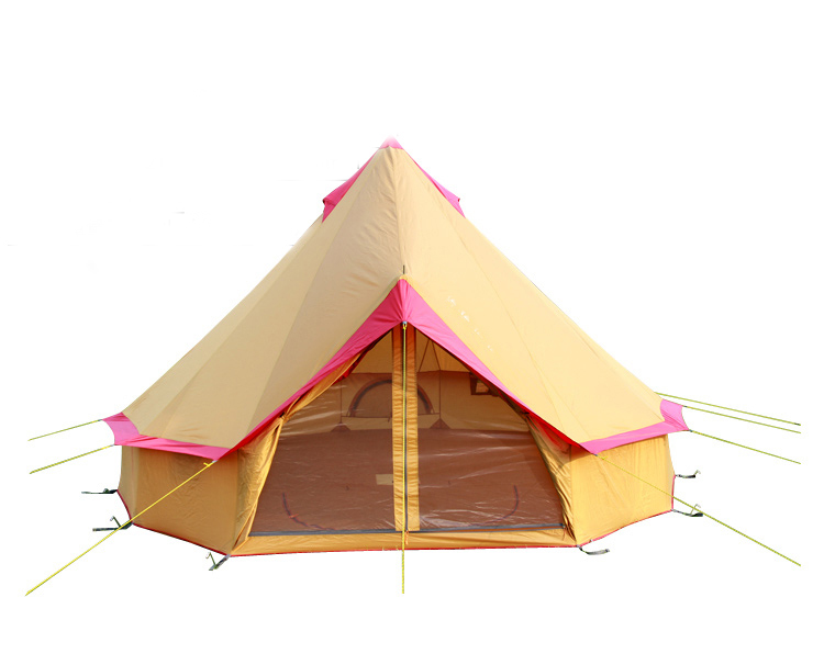 DANCHEL Outdoor Light Weight Waterproof Bell Tent for Family C&ing and Festival Tipi Tent(China  sc 1 st  AliExpress.com & Compare Prices on Festival Camping Tent- Online Shopping/Buy Low ...
