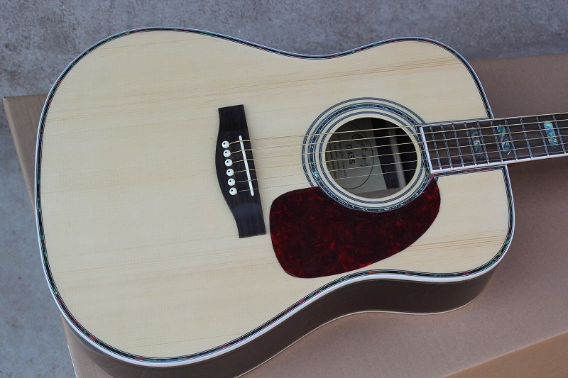 Free shipping Top Quality New Arrival Spruce Solid Wood Electric Acoustic Guitar high quality solid wood guitar 41 inch spruce wood panel acoustic guitar guitarra free shipping